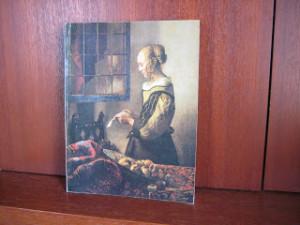 「窓辺で手紙を読む女」を表紙にした 当時の「ヨーロッパ絵画名作展」図録  (1974年)
