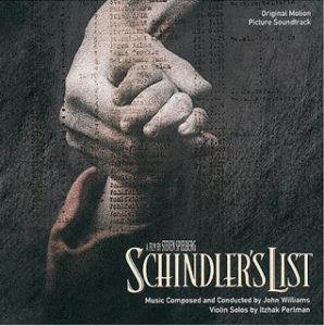 <サウンドトラック盤>このアルバムではイツァック・パールマンが演奏しています。