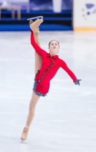 氷上のユリア・リプニツカヤ